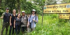 Chitwan National Park Entrace